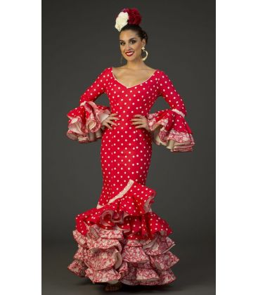 flamenco dresses 2017 - Aires de Feria - Flamenco dress Camino Polka-dots