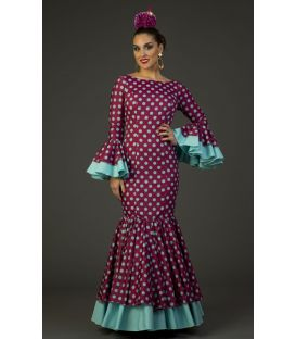 Flamenco dress Deseo Cardenal Polka dots