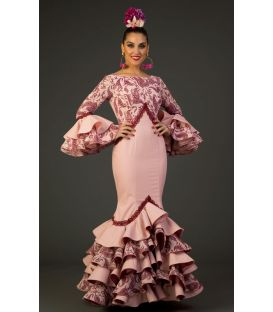 Flamenco dress Veronica Pink
