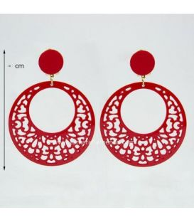 Earrings 18 - Acetate