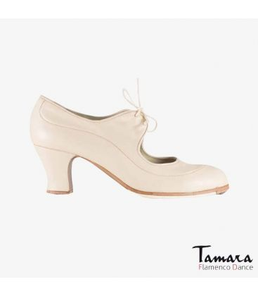 flamenco shoes professional for woman - Begoña Cervera - Angelito leather chino carrete