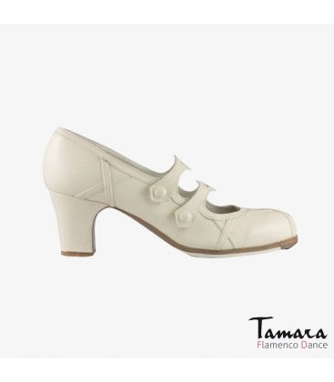 flamenco shoes professional for woman - Begoña Cervera - Barroco chino leather carrete