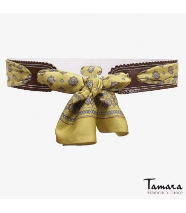 andalusian belts - - Leather Belt with kerchief
