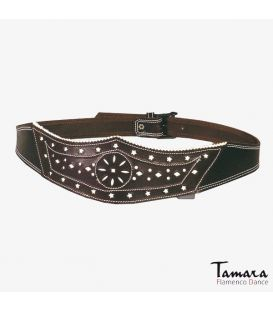 Leather belt Corona
