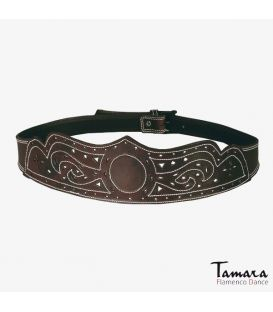 Leather belt Pico