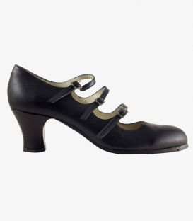 flamenco shoes professional for woman - Begoña Cervera - 3 Correas
