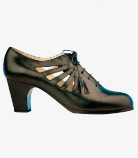 flamenco shoes professional for woman - Begoña Cervera - Ingles Calado
