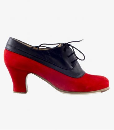 flamenco shoes professional for woman - Begoña Cervera - Blucher Tricolor