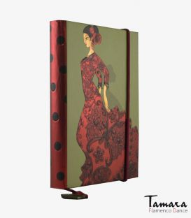flamenco complements and souvenirs - - Mini notebook Soleá