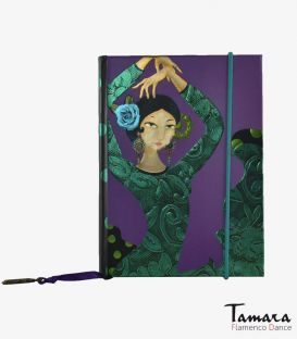 flamenco complements and souvenirs - - Mini notebook Bulerias