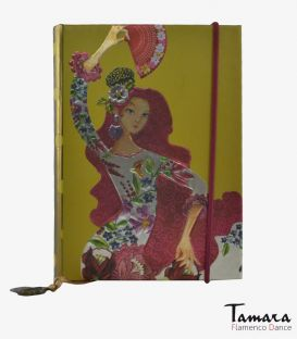 flamenco complements and souvenirs - - Mini notebook Alegrias