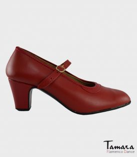 trainning flamenco shoes semiprofessional -  - Semiprofessional Basic - Leather with Strap