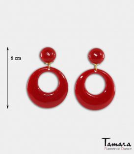 flamenco earrings - - Earrings Big ( size M )