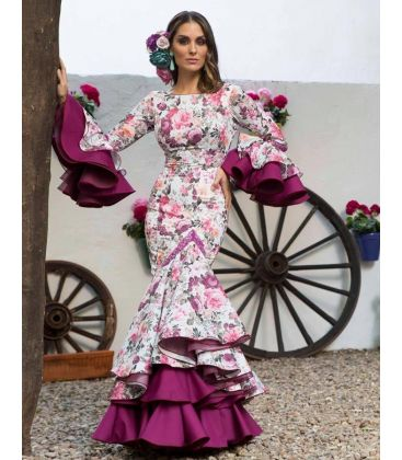 flamenca dresses 2018 for woman - Aires de Feria - Flamenca dress Ronda estampado