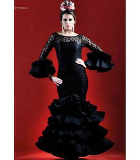 woman flamenco dresses 2019 - Roal - Flamenco dress Estepona c.barco