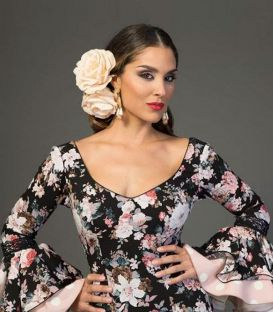 Flamenca dress Flores estampado