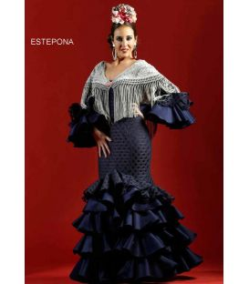 woman flamenco dresses 2019 - Roal - Flamenco dress Estepona encaje