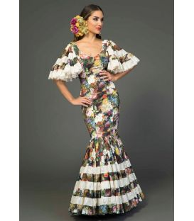 Gitana dress Huelva estampado