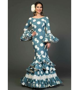Flamenca dress Azucena Polka dots