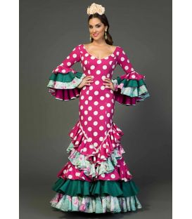 Flamenca dress Madrugá Polka dots