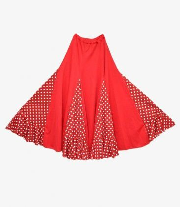 flamenco skirts for woman - - Madrileña with polka dots