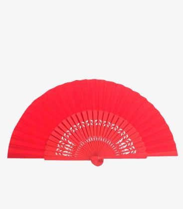 spanish fans - - Spanish Fan Pericon (31.5 cm) - Carved