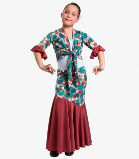 flamenco skirts for girl - - Saray girl - Knited ( Choosing colors )