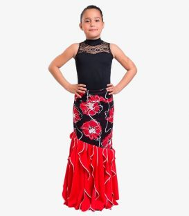 flamenco skirts for girl - - Rosario - Knited ( Choosing colors )