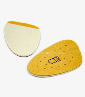 Half leather insole