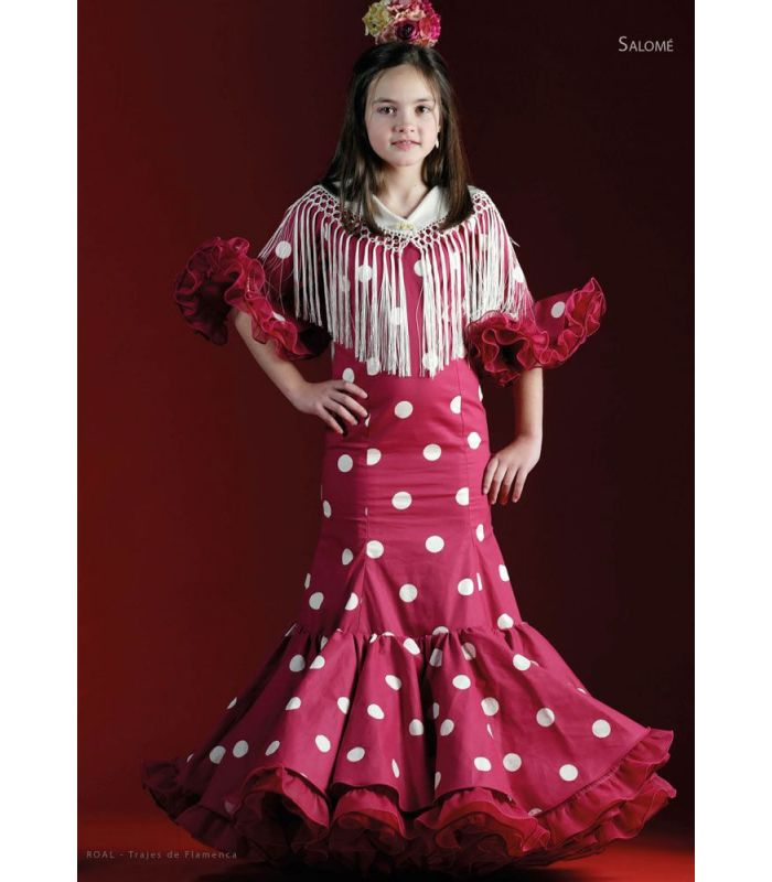 robe de flamenca salome enfant tamara flamenco. Black Bedroom Furniture Sets. Home Design Ideas