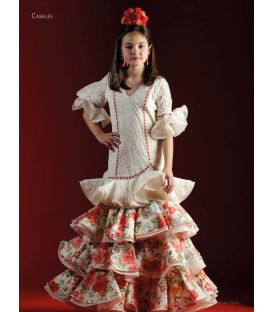 flamenca dresses 2018 girl - Roal - Flamenco dress Cabales super girl