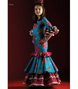 robes de flamenco 2018 enfants - Roal - Robe de flamenca - Trigal Enfant