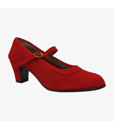 trainning flamenco shoes semiprofessional - - Semiprofessional Basic - Suede with Strap