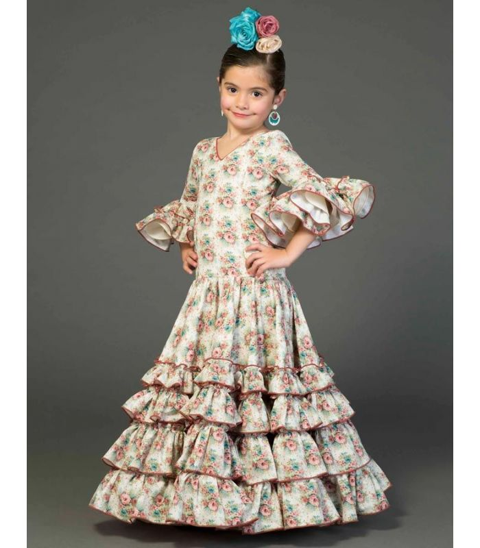 robe de flamenca amapola enfant imprim tamara flamenco. Black Bedroom Furniture Sets. Home Design Ideas
