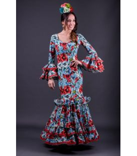 Robe de flamenca Trigal flores