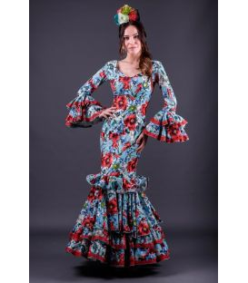 robes de flamenco 2018 femme - Roal - Robe de flamenca Trigal flores