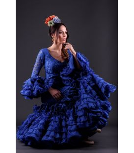 Flamenca dress Alhambra Azulina