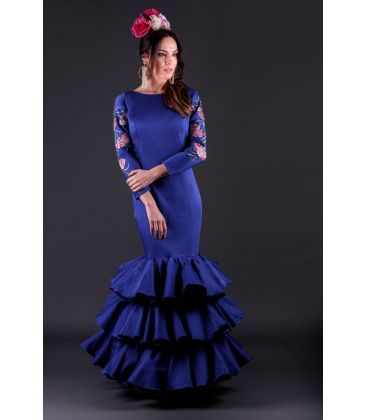 woman flamenco dresses 2019 - Roal - Flamenca dress Silvia bordado