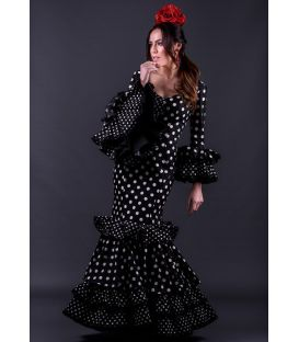 Flamenca dress Trigal negro