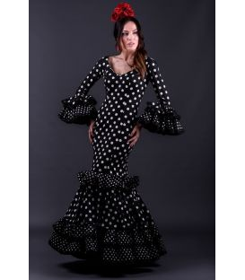 flamenca dresses 2018 for woman - Roal - Flamenca dress Trigal negro