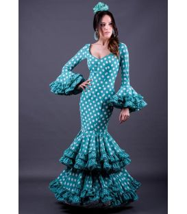 woman flamenco dresses 2019 - Roal - Flamenca dress Cordoba Lunares
