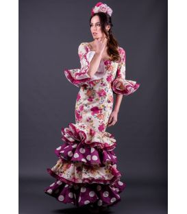 Flamenca dress Calé flores