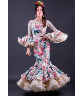 woman flamenco dresses 2019 - Roal - Flamenca dress Jade Flores