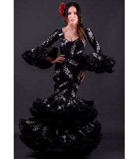 woman flamenco dresses 2019 - Roal - Flamenca dress Cordoba Estampado