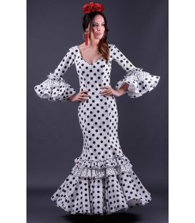 woman flamenco dresses 2019 - Roal - Flamenca dress Duende Lunares
