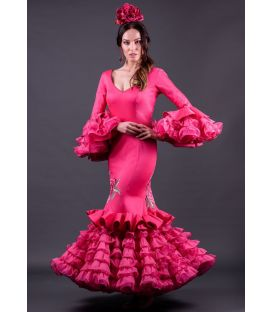 woman flamenco dresses 2019 - Roal - Flamenca dress Alhambra bordado