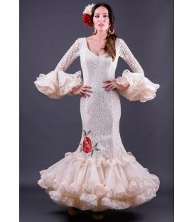 Robe de flamenca Carla Bordado