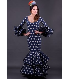 woman flamenco dresses 2019 - Roal - Flamenco dress Alegria Lunares