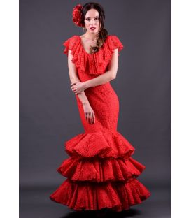 Flamenco dress Yedra encaje