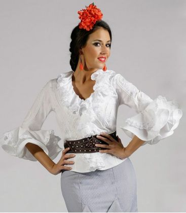 blouses and flamenco skirts - Roal - Flamenco dress Daniela (blouse)